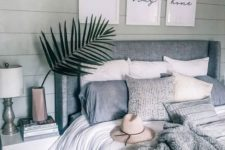 38 make your own gallery wall with motivational artworks to inspire staying cozy at home