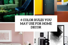 4 color rules you may use for home decor cover