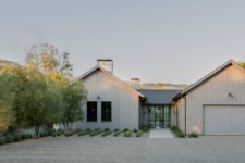 01 This residence is a modern take on traditional farmhouses that are seen in this area a lot and it looks amazing