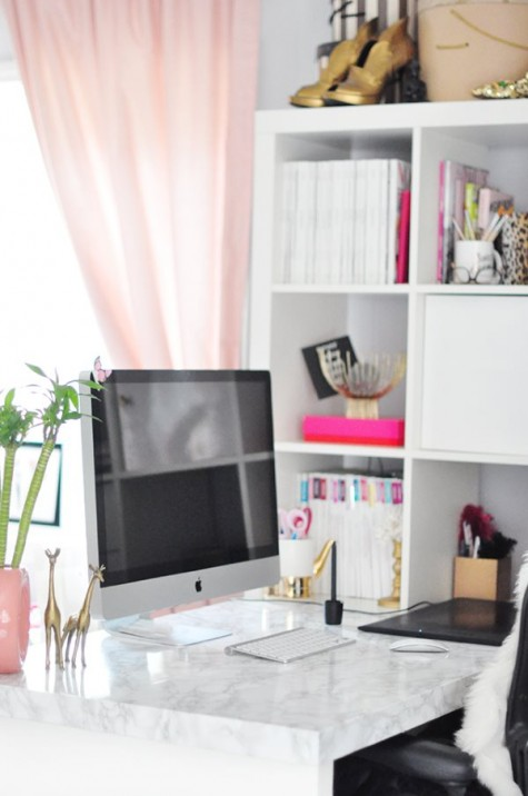 25 Practical Ikea Desk Hacks That Inspire Digsdigs