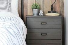 19 an IKEA Rast dresser hacked with grey paint, planks and vintage handles for an industrial meets rustic bedroom