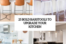 25 bold barstools to upgrade your kitchen cover