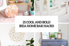25 cool and bold ikea home bar hacks cover