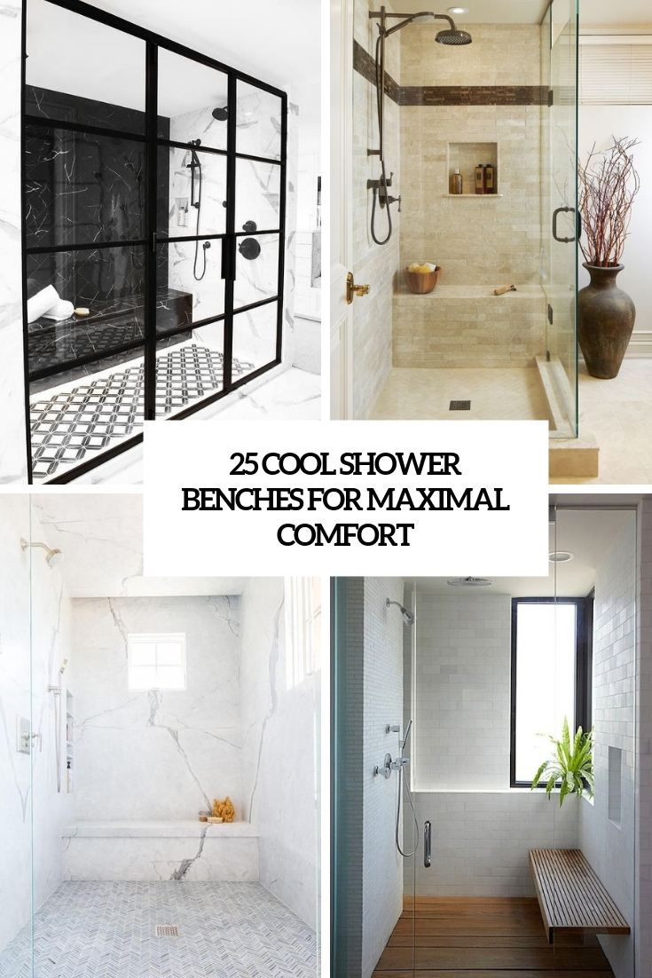 cool shower benches for maximal comfort cover