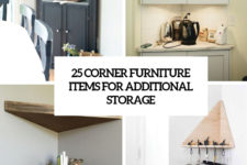 25 corner furniture items for additional storage cover