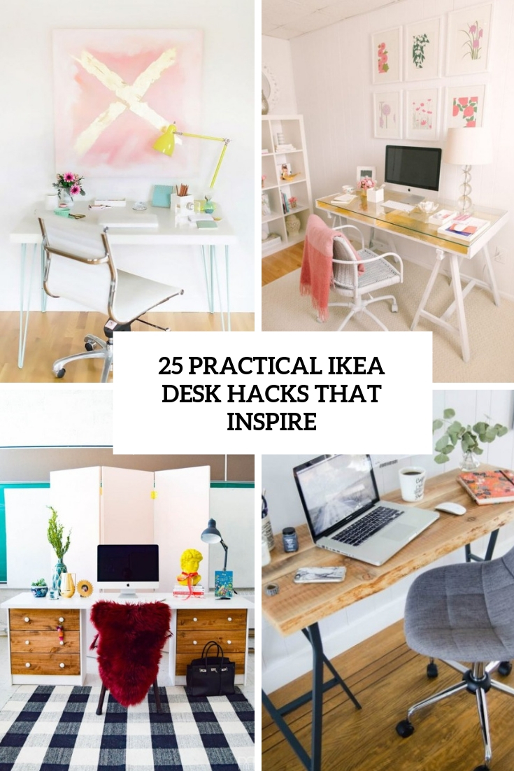 25 Practical IKEA Desk Hacks That Inspire