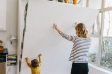 04 you can even place a Murphy bed in a playroom – it won't take any space before you decide to use it