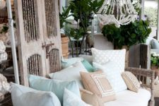 08 a cane daybed with a ton of pillows feels very outdoorsy and will perfectly fit a rustic or boho space