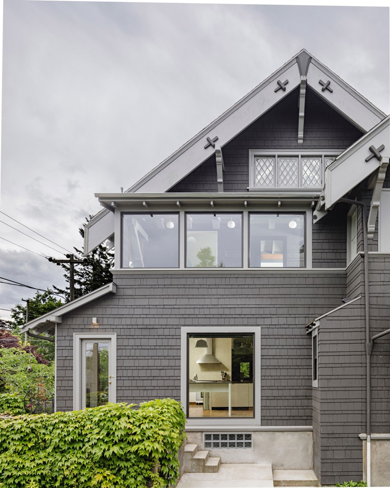What a great extension and renovation of a historic home