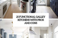 25 functional galley kitchens with pros and cons cover