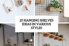25 hanging shelves ideas in various styles cover