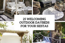 25 welcoming outdoor daybeds for your siestas cover