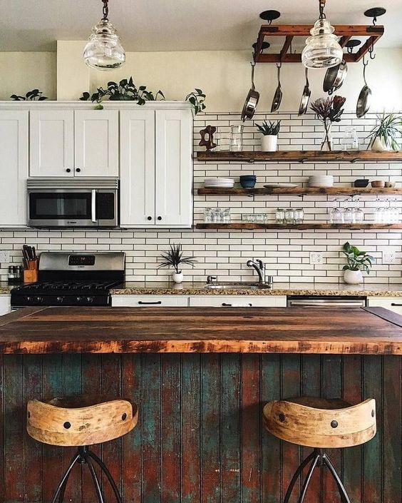 Shabby Chic Kitchen Design Ideas: 25 Lively Eclectic Kitchen Décor Ideas