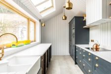 a farmhouse kitchen design
