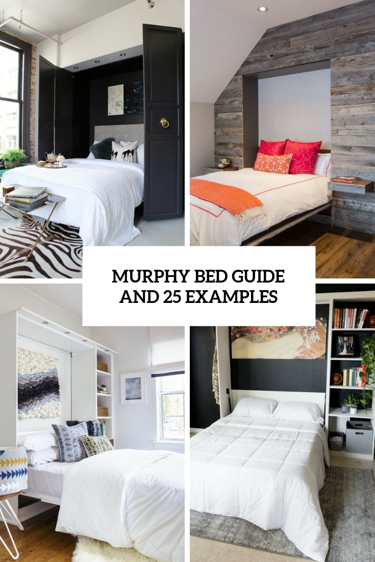 murphy bed guide and 25 examples cover