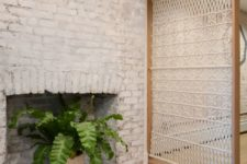 07 such a beautiful macrame screen will be a nice sheer divider and an accent in your boho chic space