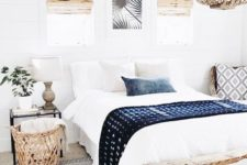 13 you may also add colors and patterns with blankets and pillows, brign texture with them
