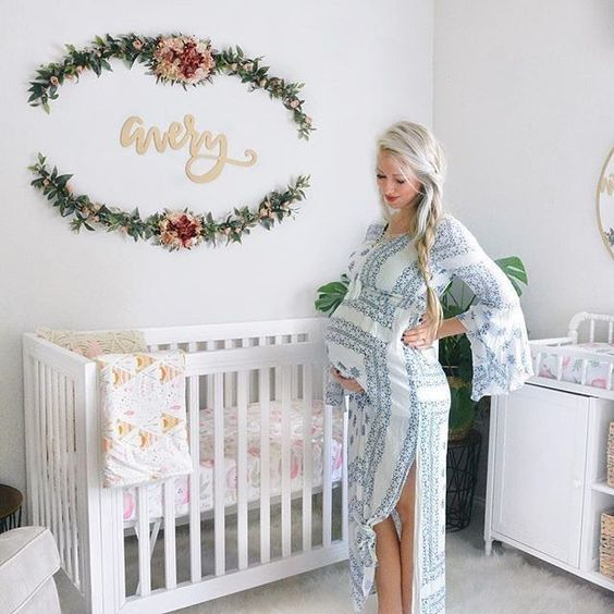 Simple Decorating Girl Nursery Design: 4 Hottest Nursery Decor Trends And 25 Examples