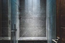 18 soothing shades of LEDs will make your shower feel very comforting and very inviting