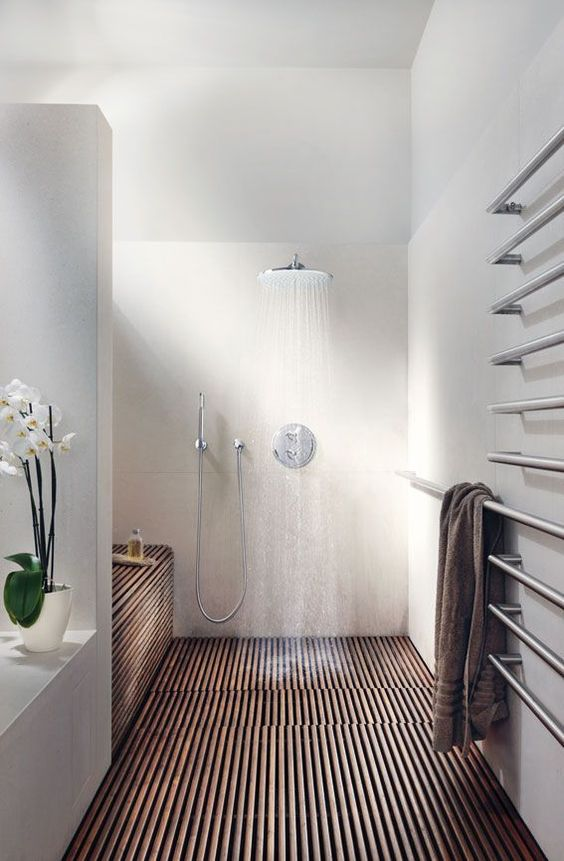 choose a rain shower head to wash all the stress out easily at the end of the day
