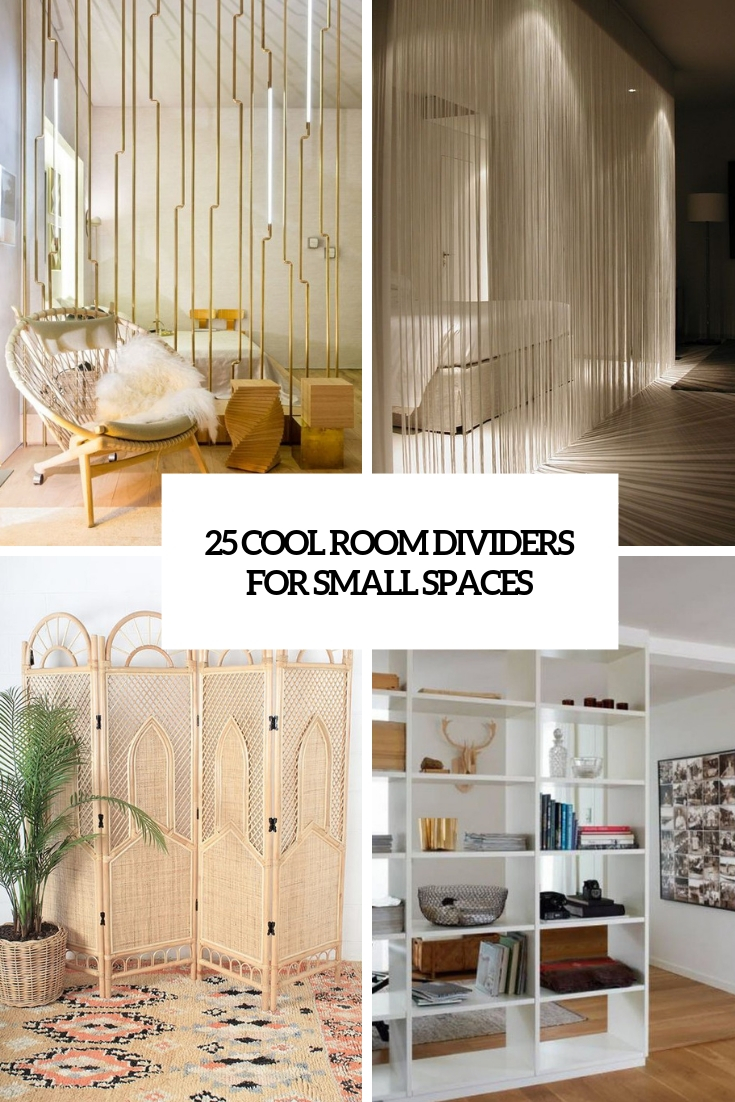 25 Cool Room Dividers For Small Spaces