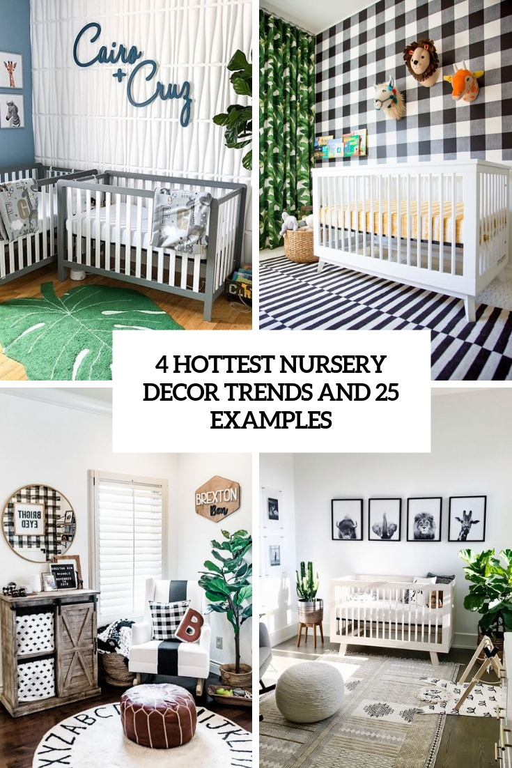 4 Hottest Nursery Decor Trends And 25 Examples