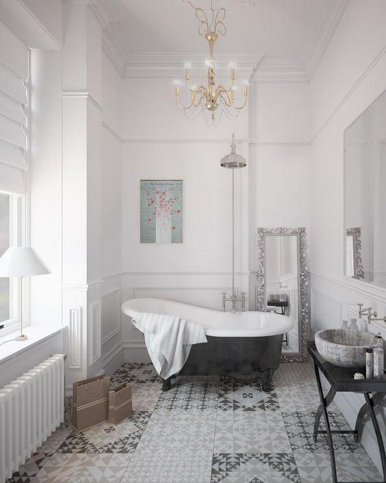 Elegant Bathroom Decor: 25 Elegant Parisian Bathroom Decor Ideas