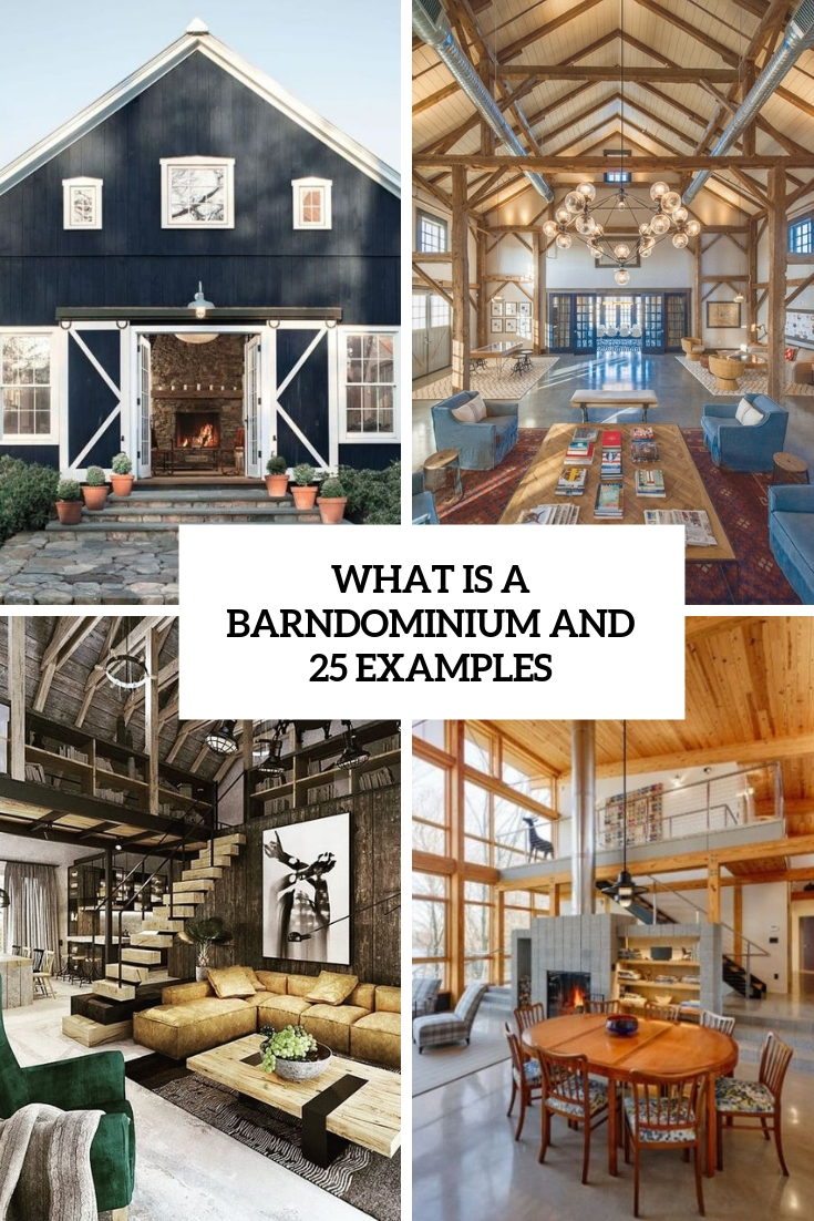 What Is A Barndominium And 25 Examples