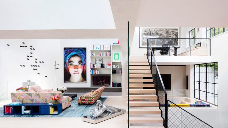 19th Century Art Studio Turned Into An Eclectic Home