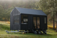 01 This tiny off-grid cabin is great for outdoor living, it's sure to make your summer getaway super sustainable