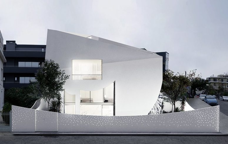 Dreamy And Light-Filled Minimalist Home In White