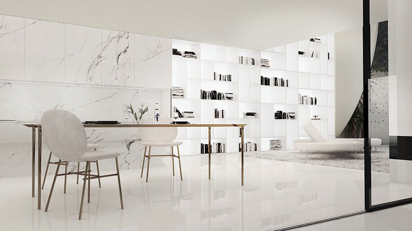 a clever open layout design with lots storage