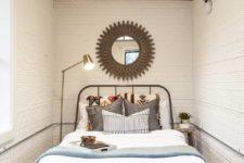 super small yet practical bedroom