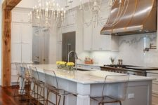 05 gorgeous statement chandeliers like these ones will brign enough light and much elegance to your space