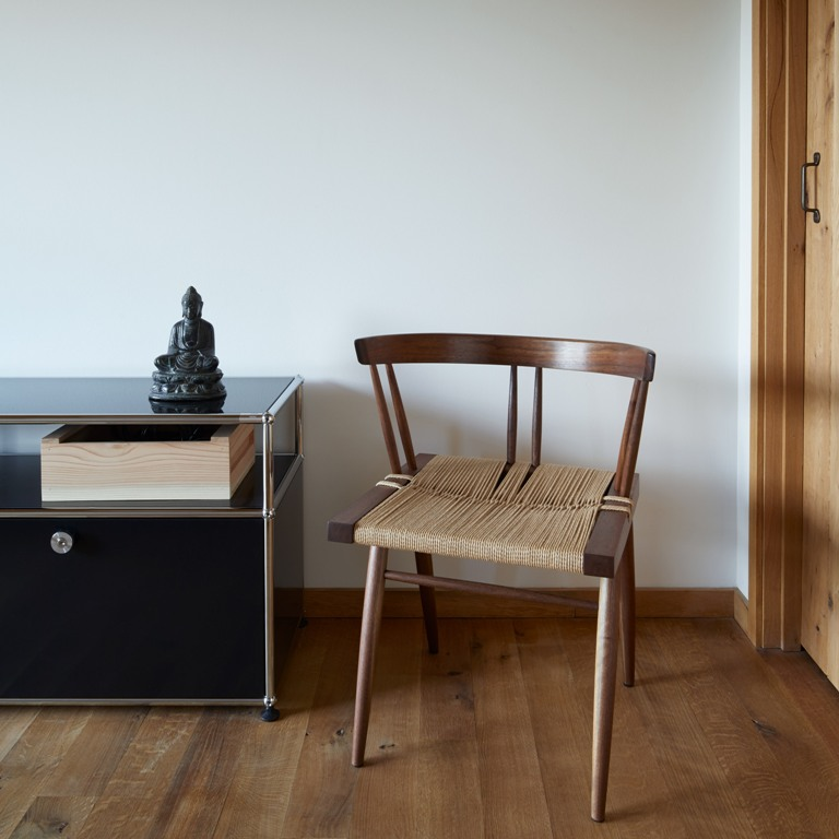 Some furniture was made particularly for this home and some was brought from Japan