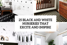 25 black and white nurseries that excite and inspire cover
