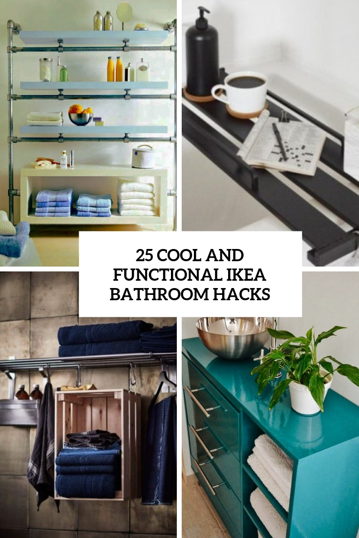 cool and functional ikea bathroom hacks cover