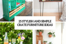 25 stylish and simple crate furniture ideas cover