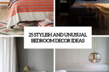 25 stylish and unusual bedroom decor ideas cover