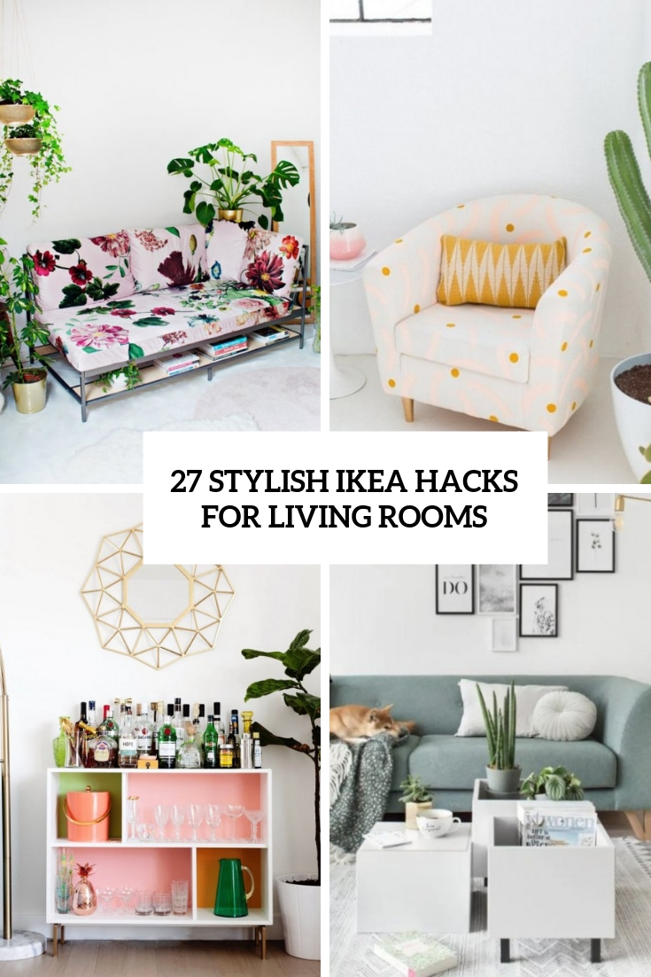 25 Stylish IKEA Hacks For Living Rooms