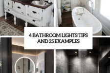 4 bathroom lights tips and 25 examples cover