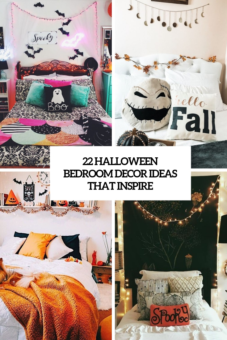 22 Halloween Bedroom Décor Ideas That Inspire