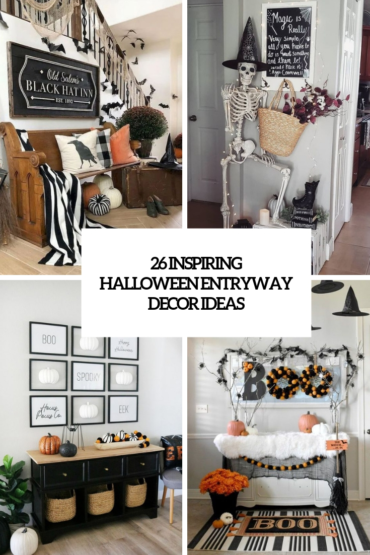 26 Inspiring Halloween Entryway Decor Ideas