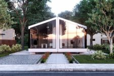 01 The Haus is a smart pre-fab home that is available in three configurations, it's move-in ready and can withstand an earthquake
