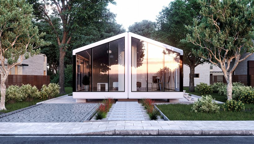 The Haus is a smart pre fab home that is available in three configurations, it's move in ready and can withstand an earthquake