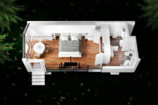 07 This is a model of mOne – a Haus with a single bedroom that you can also see in the pics above