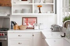 12 if you love open storage, you can remove the doors of your cabinets or order cabinets with no doors