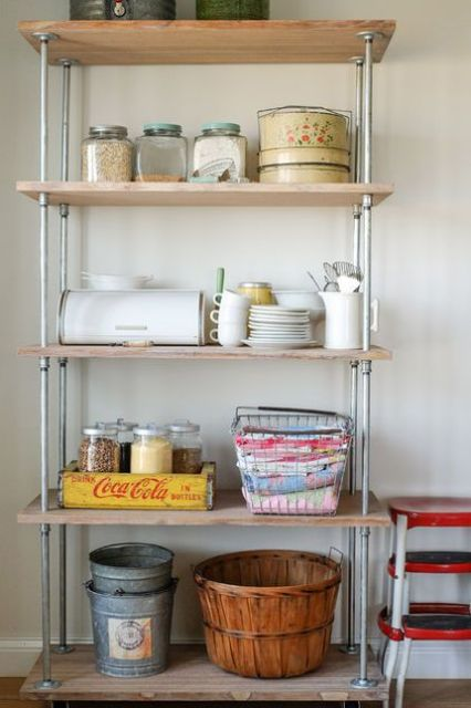 25 Trending Kitchen Shelf And Shelving Unit Ideas Digsdigs