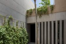a modern courtyard design