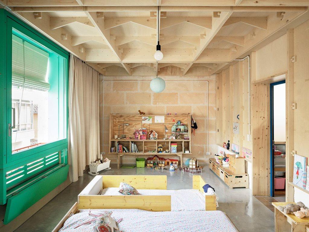 a shared nursery design